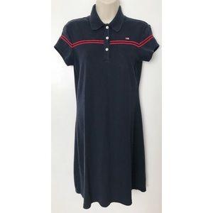 Polo Ralph Lauren Red Striped Dress